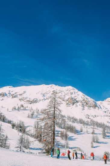 Skiing In Montgenevre, France (32)