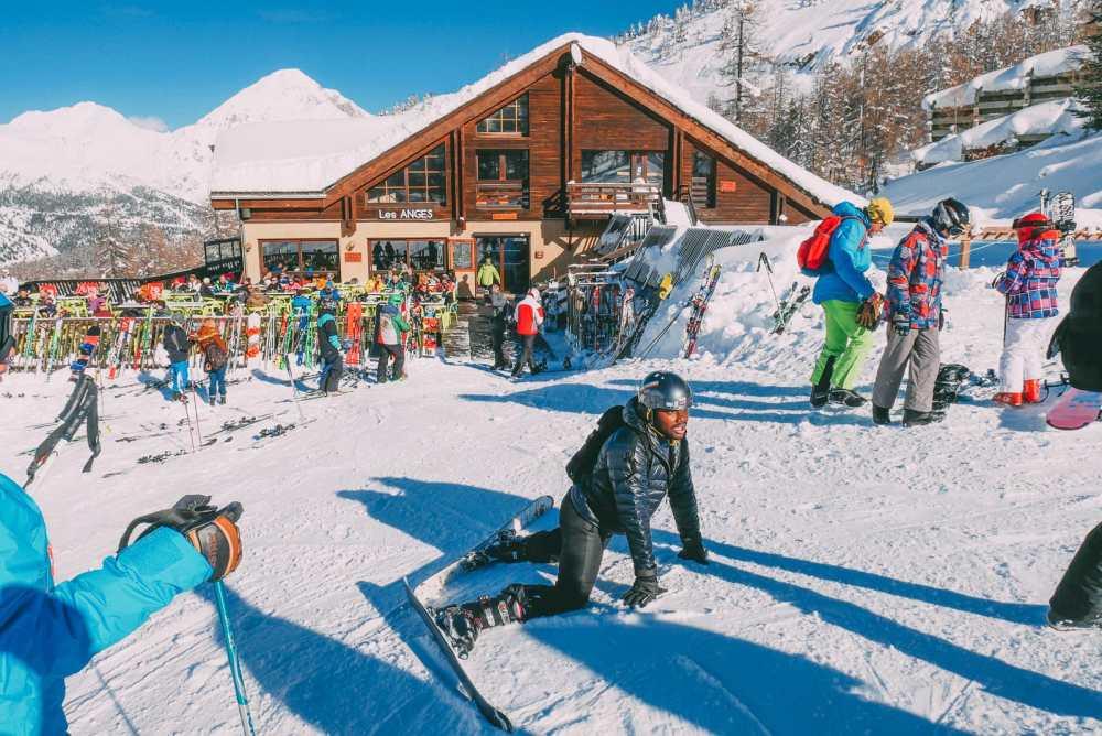 Skiing In Montgenevre, France (33)