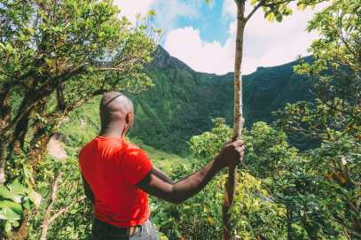 Hiking To The Top Of A Volcano... In the Caribbean! (13)
