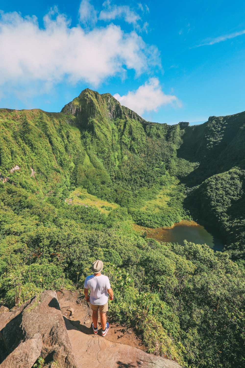 Hiking To The Top Of A Volcano... In the Caribbean! (20)
