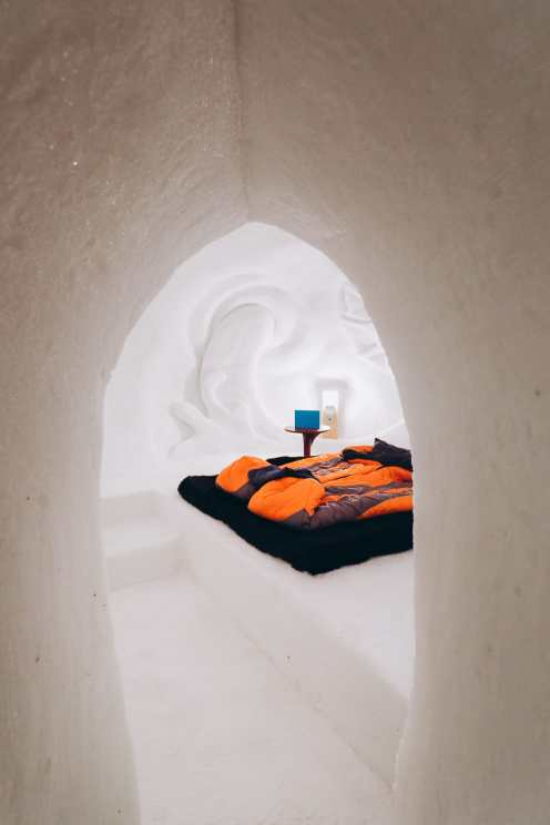 Sleeping In An Igloo Under The Matterhorn... In Zermatt, Switzerland (33)