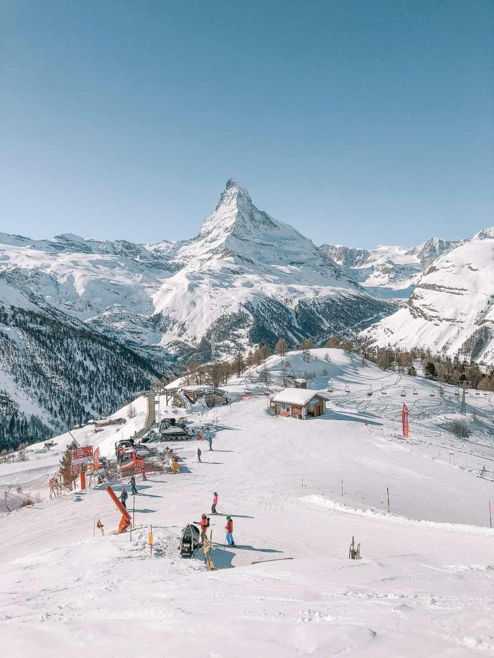 Skiing In Zermatt, Switzerland... (14)