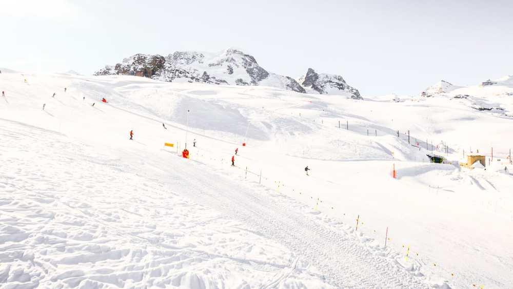 Skiing In Zermatt, Switzerland... (2)