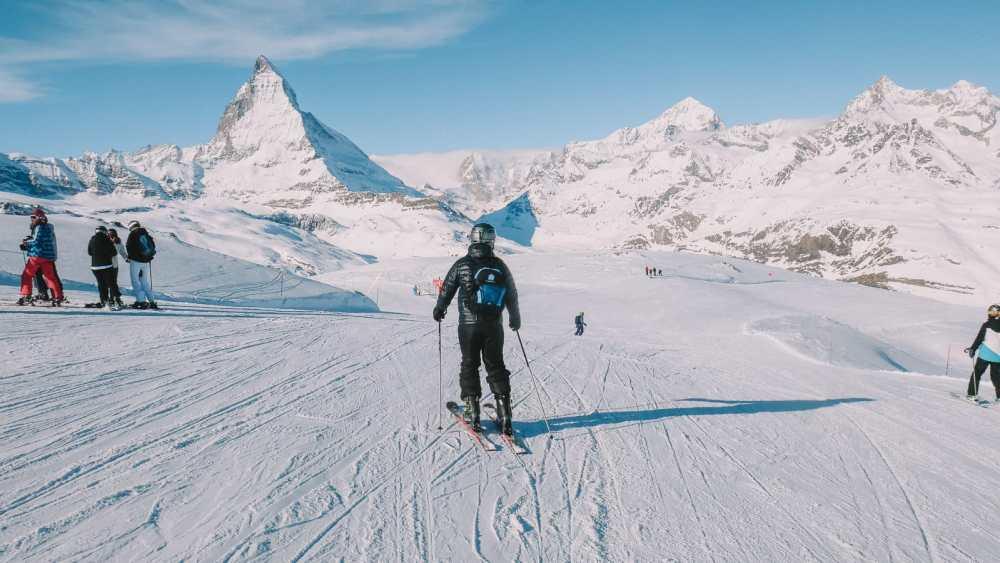 Skiing In Zermatt, Switzerland... (4)