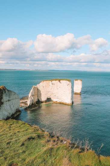 Exploring The Old Harry Rocks Formation On The Jurassic Coast Of England (28)
