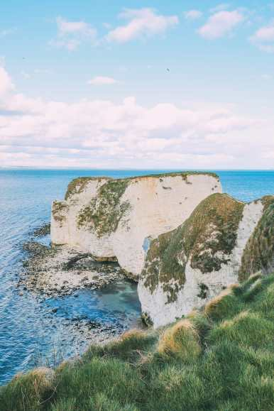 Exploring The Old Harry Rocks Formation On The Jurassic Coast Of England (33)
