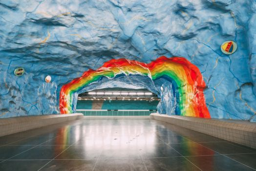 Best Stations Stockholm's Metro Art (19)