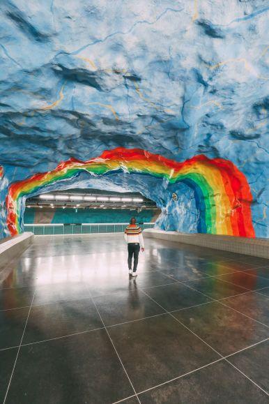 Best Stations Stockholm's Metro Art (5)