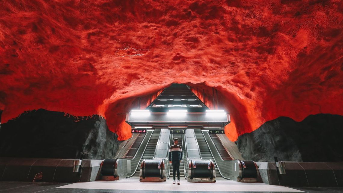 Best Stations Stockholm's Metro Art (2)