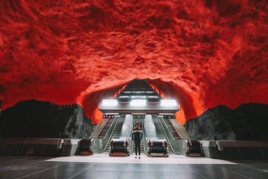 Best Stations Stockholm's Metro Art (2)