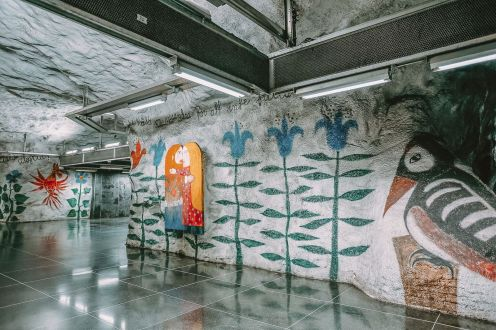 Best Stations Stockholm's Metro Art (17)