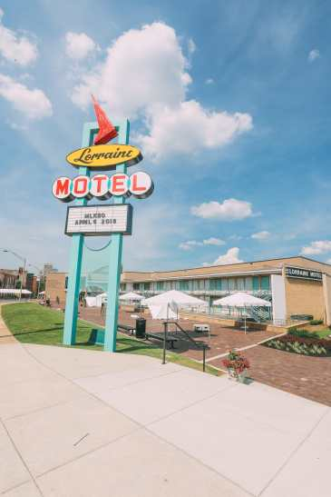 The Assassination Of Martin Luther King And Sun Studio - The Very Spot Elvis Presley Was Discovered (1)