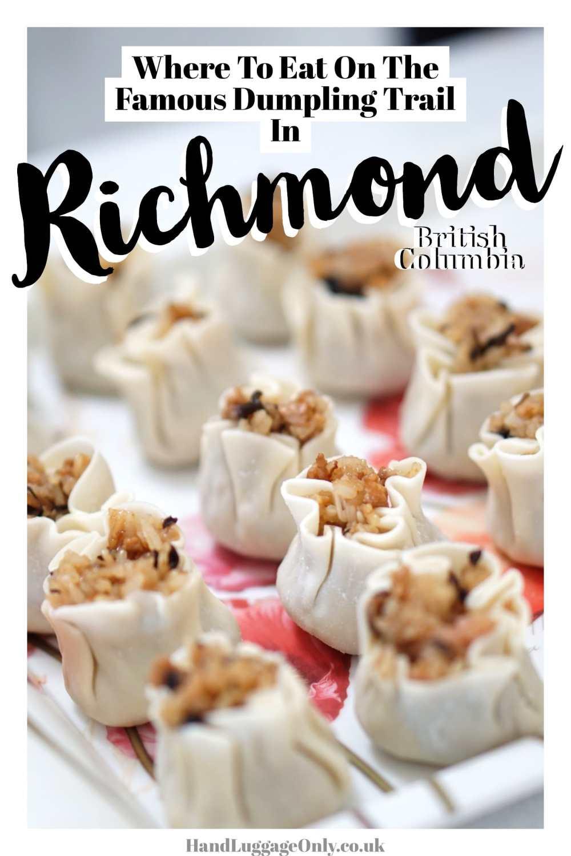 Richmond's Famous Dumpling Trail