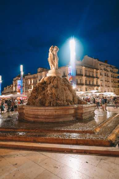 The Absolutely Beautiful City Of Montpellier In The South Of France (57)