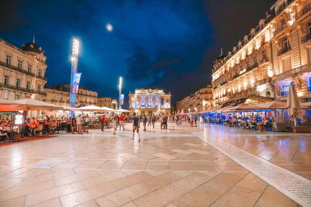The Absolutely Beautiful City Of Montpellier In The South Of France (61)