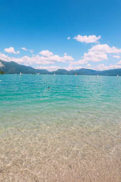 Walchensee - One Of The Most Beautiful Views In The Alps Of Germany (...And It's Got A Beach Too!) (20)