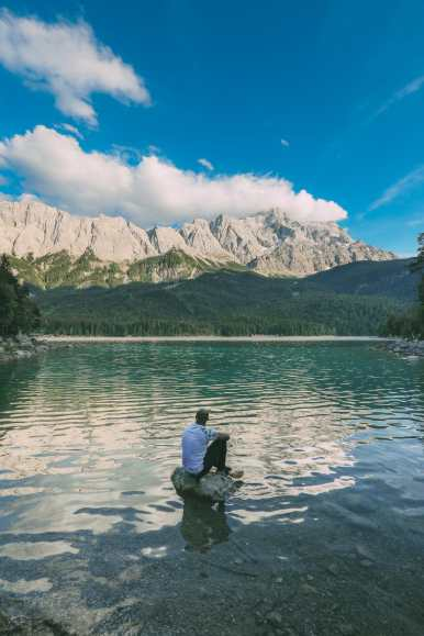Zugspitze And Eibsee - The Tallest Mountain And One Of The Most Beautiful Lakes In Germany! (34)