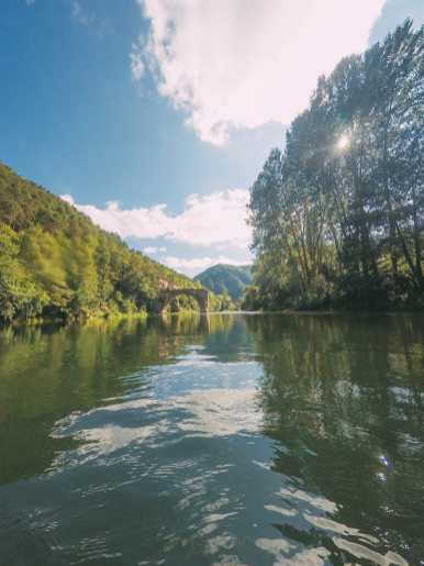 Sailing Down The River (And Paragliding) In Milau... In The South Of France (9)