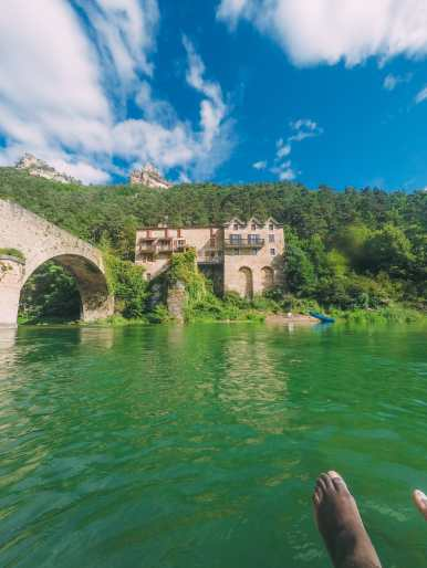 Sailing Down The River (And Paragliding) In Milau... In The South Of France (10)