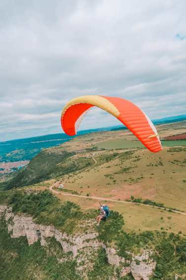 Sailing Down The River (And Paragliding) In Milau... In The South Of France (16)