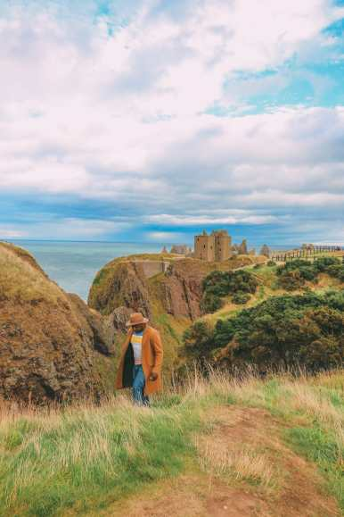 Exploring The Ancient Dunnottar Castle... In Stonehaven, Scotland (7)
