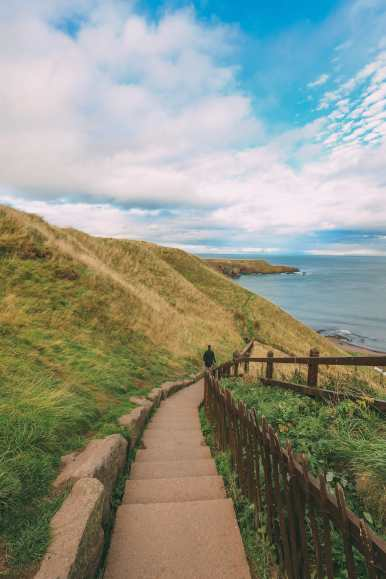 Exploring The Ancient Dunnottar Castle... In Stonehaven, Scotland (16)
