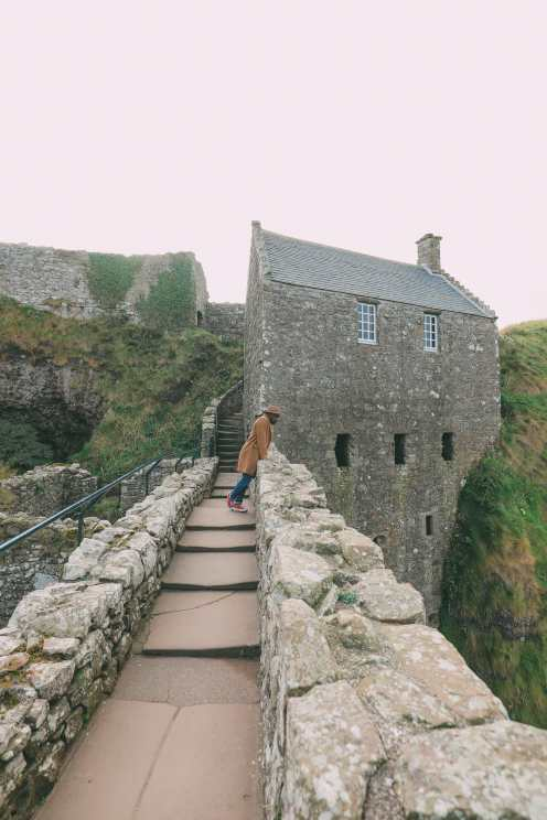 Exploring the old Dunnottar Castle ... in Stonehaven, Scotland (18)