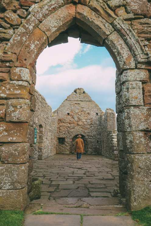 Exploring The Ancient Dunnottar Castle... In Stonehaven, Scotland (29)