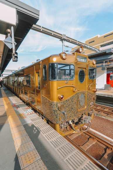 The Aru Ressha Sweet Train, Pretty Little Mamedamachi And A Night In Fukuoka, Japan (6)