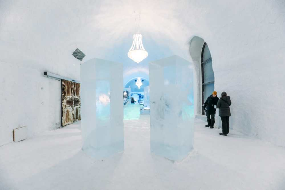 Arrival At The ICEHOTEL In Lapland, Sweden (32)