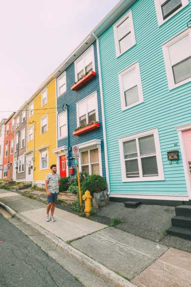 The Colourful Houses Of St John's, Newfoundland (7)