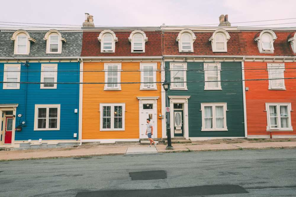 The Colourful Houses Of St John's, Newfoundland (9)