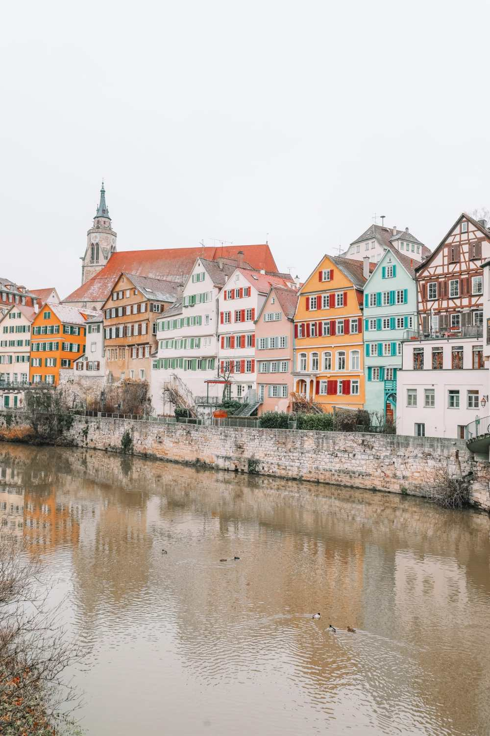 The Colourful Ancient City Of Tubingen, Germany (1)