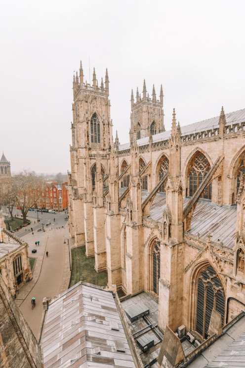 Finding The Very Best View In York At York Minster (7)