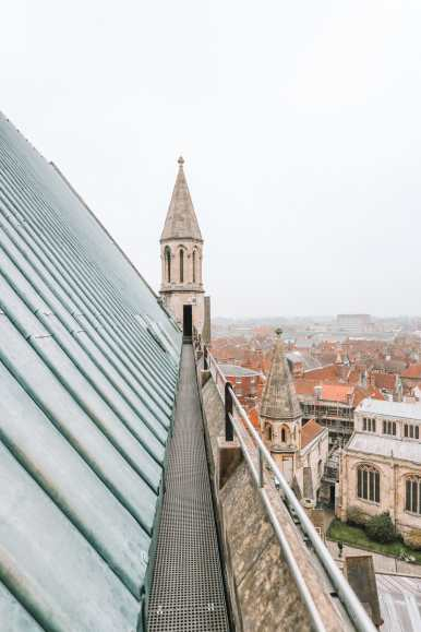 Finding The Very Best View In York At York Minster (8)