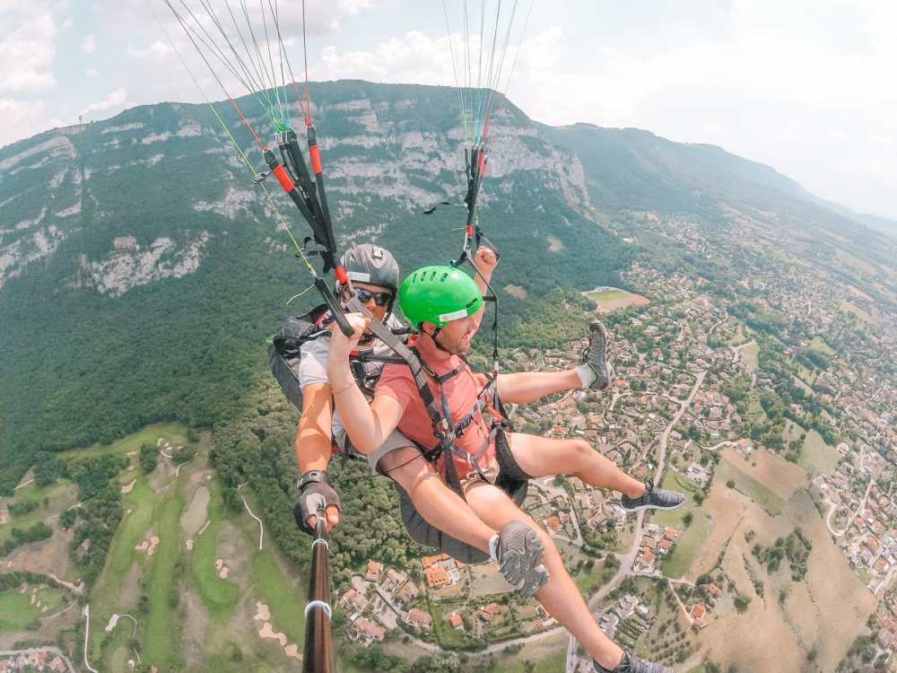 Paragliding From France Into Switzerland (57)