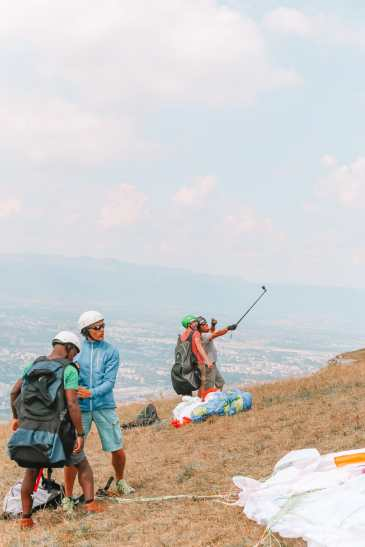 Paragliding From France Into Switzerland (41)