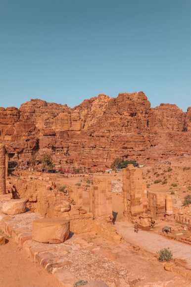 Finding The Monastery Up In The Mountains In Petra, Jordan (5)