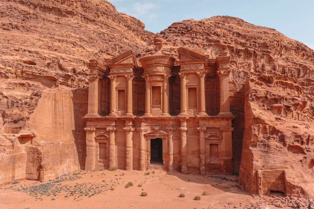Finding The Monastery Up In The Mountains In Petra, Jordan (31)