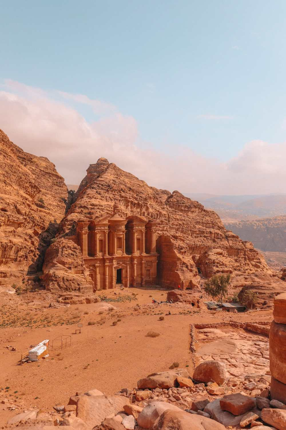 Finding The Monastery Up In The Mountains In Petra, Jordan (34)