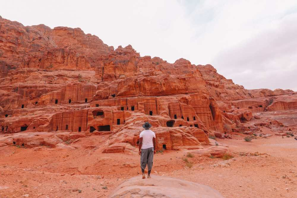 Finding The Monastery Up In The Mountains In Petra, Jordan (61)