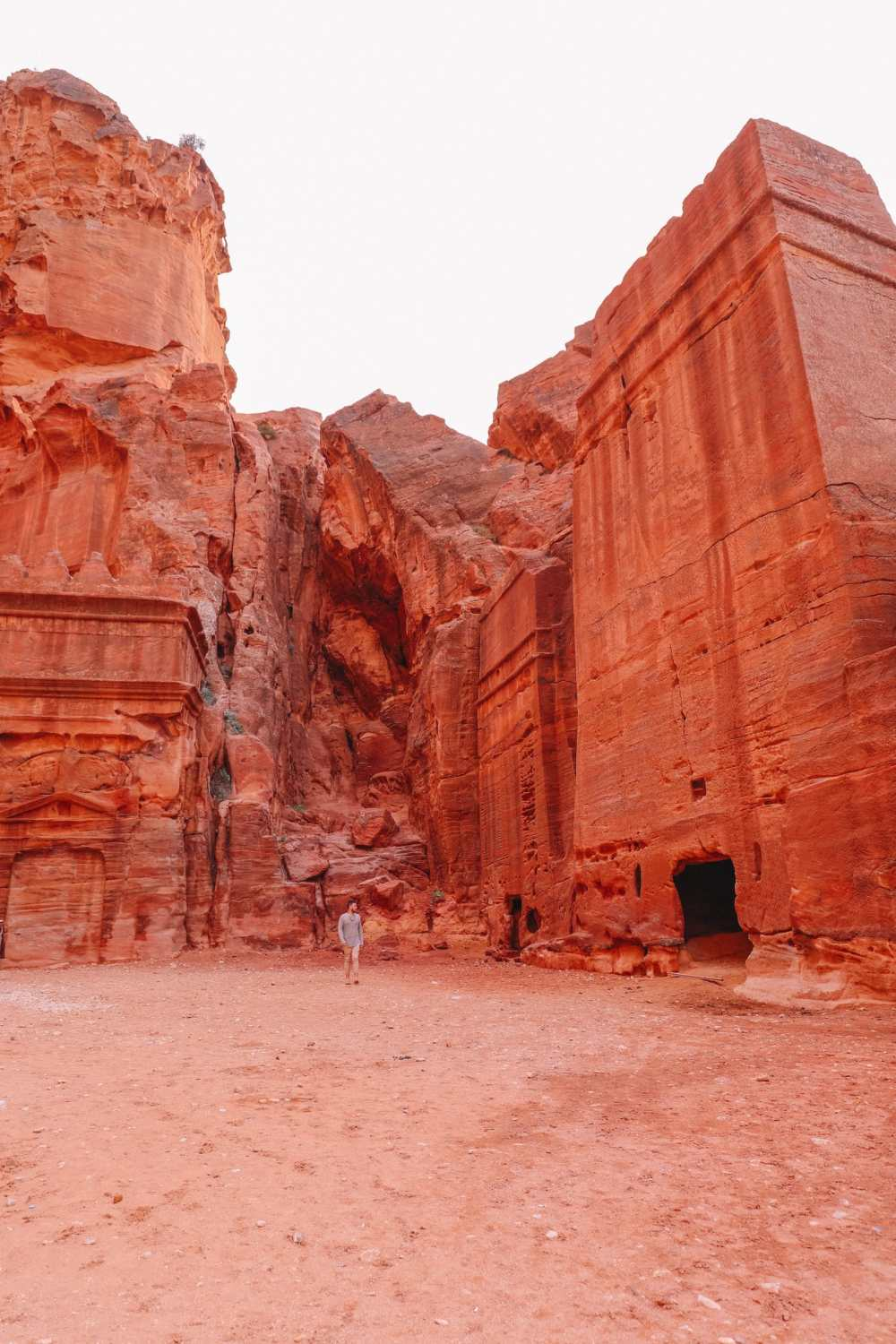 Finding The Monastery Up In The Mountains In Petra, Jordan (64)