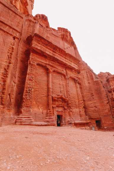 Finding The Monastery Up In The Mountains In Petra, Jordan (65)