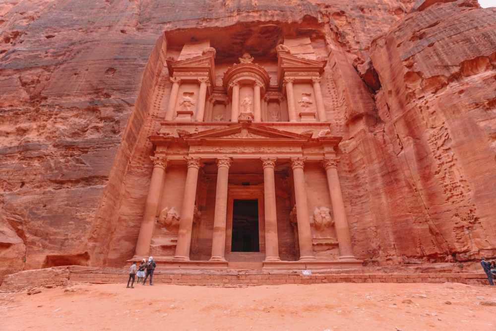 Finding The Monastery Up In The Mountains In Petra, Jordan (66)