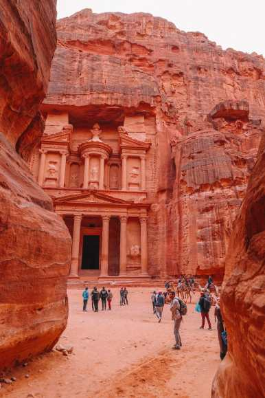 Finding The Monastery Up In The Mountains In Petra, Jordan (67)