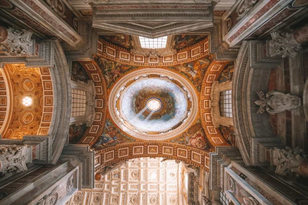The Magnificent St Peter's Basilica In The Vatican City, Rome (33)
