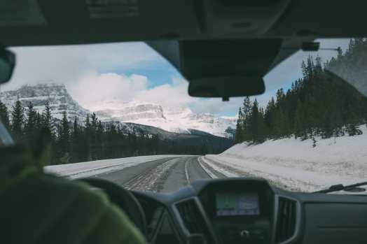 Driving Canada's Epic Icefields Parkway And Finding The Frozen Bubbles Of Abraham Lake (14)