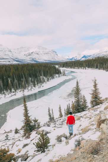 Driving Canada's Epic Icefields Parkway And Finding The Frozen Bubbles Of Abraham Lake (16)