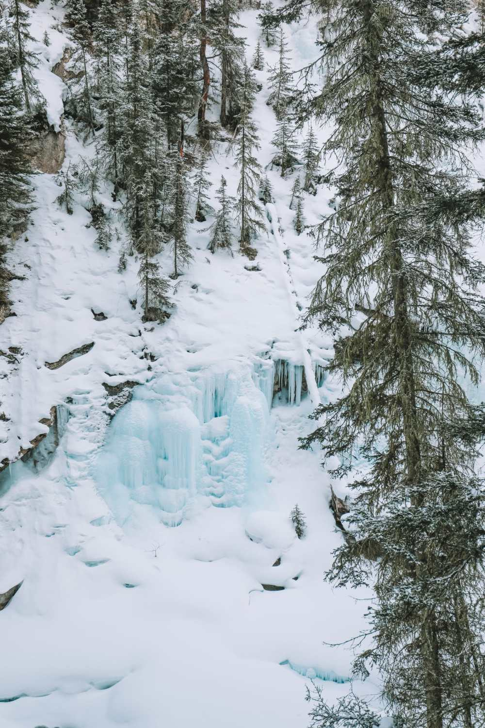 Hiking Johnston Canyon And Seeing The Northern Lights Over Canada (4)