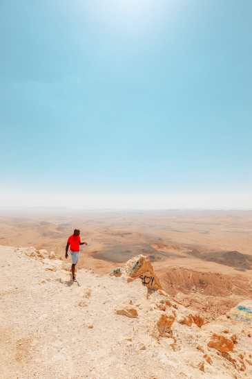 24 Hours In Makhtesh Ramon Crater, In The Negev Desert (6)